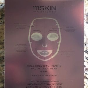 COPY - 111Skin Rose Gold Mask -box of 5, new, sea…
